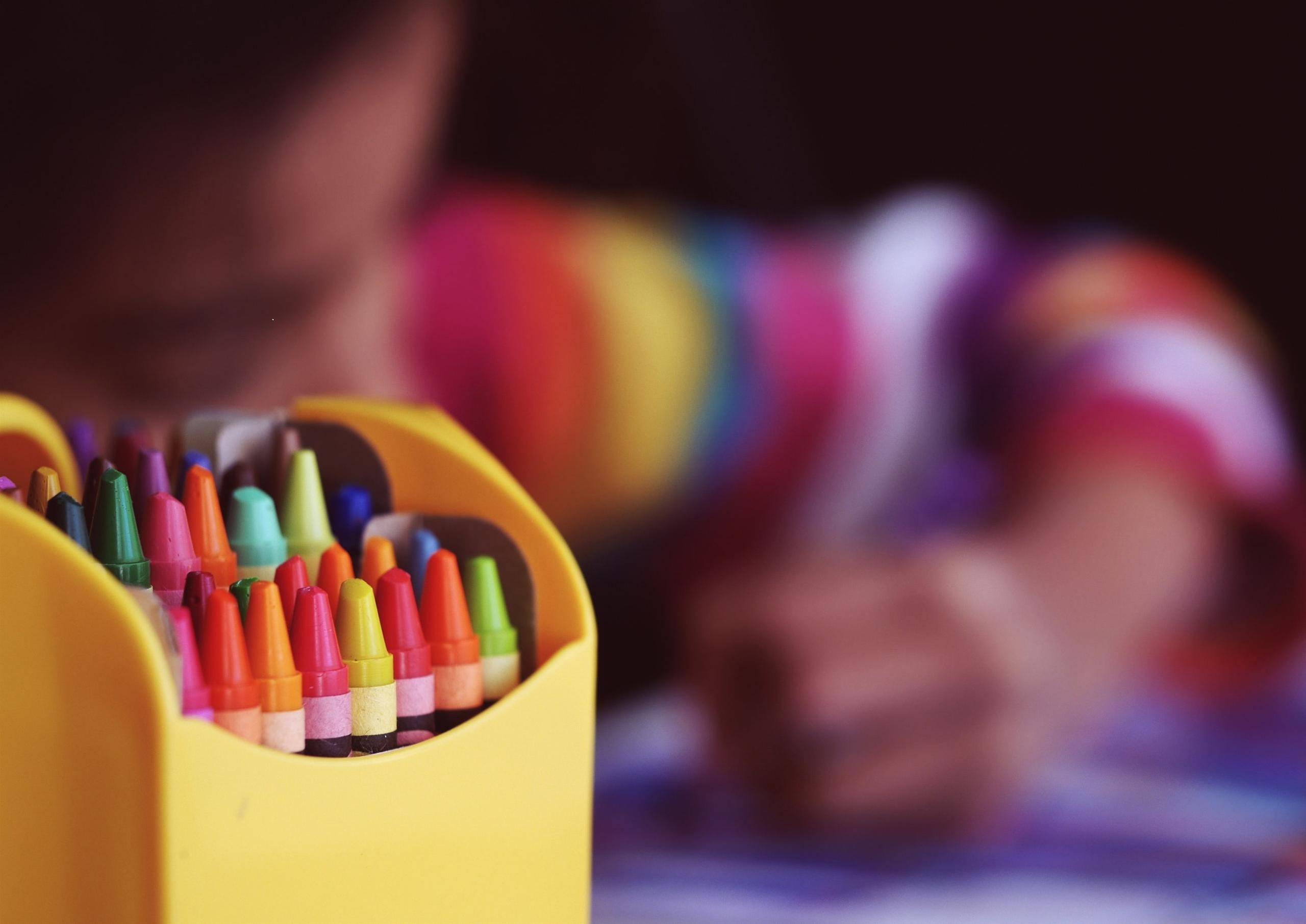 pastelli colorati compiti