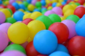 palline colorate per bambini