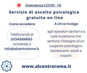 ascolto psicologico online